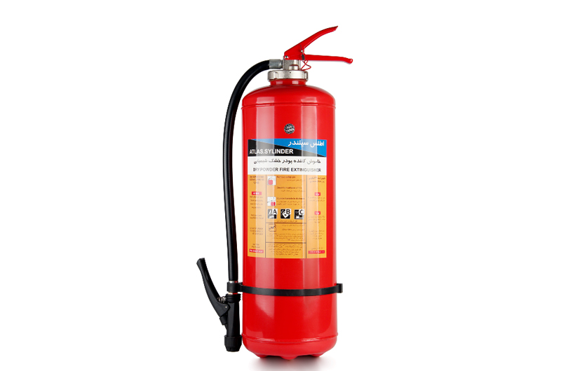 dry powder portable fire extinguishers-Internal Co2 Cartridge12kg
